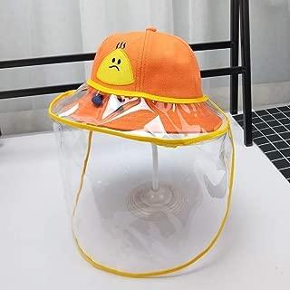 Anti-Fog Hat Child Unisex Protective Cap Fisherman Hat Female Big Eaves Sunscreen Saliva Cover Face Dustproof for Child