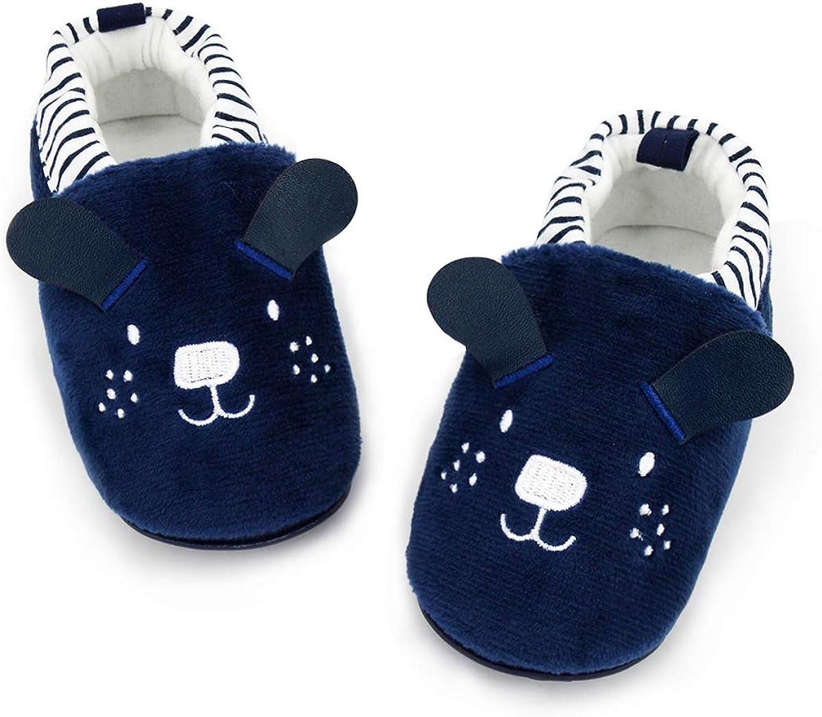 COSANKIM Infant Finally popular brand Sale special price Baby Boys Girls Slipper Soft Sole Skid Sneak Non