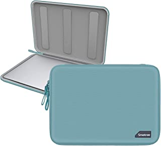 Smatree Hardshell Laptop Sleeve Compatible with 13.3inch MacBook Air/MacBook Pro 2019/2018/2017/12.9inch iPad Pro/ 12inch MacBook/ 11.6inch MacBook Air/Tablet Sleeve Case (Green)