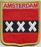 Niederlande Amsterdam Flagge bestickt Patch (cy038)