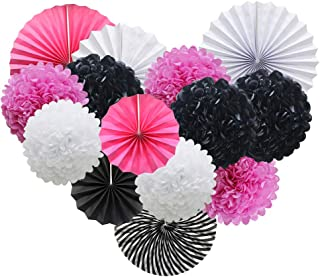 Best black white and pink party Reviews