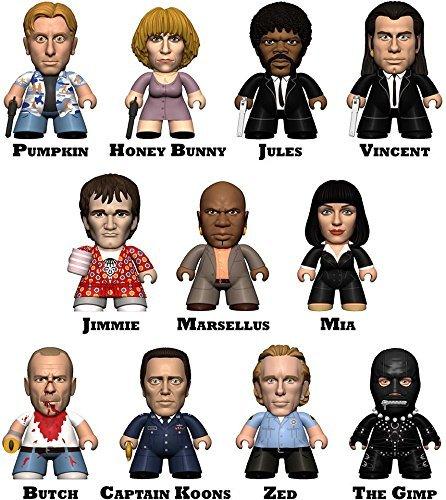 The Pulp Fiction Collection Titans Random Mini-Figure Display 18 Boxes CDU