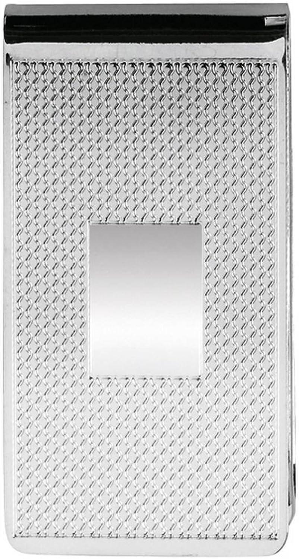 Orton West Silber Breite Strukturierter Silber geldclip B01ABPZ616