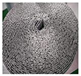 Lámina Térmica Rollo Aislante Térmico Aislamiento Termico Aluminio Reflexivo Aislamiento Térmico Multicapa Para Frío Y Calor Para Reflector De Calor Áticos Ventanas, Garajes Conductos ( Size : 1*10m )