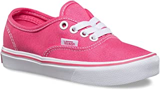 Vans Authentic Lite Hot Pink/White Girls Sneakers Shoes
