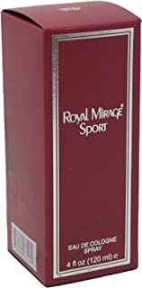 Royal Mirage Sport Eau De Cologne for Men - 120 ml