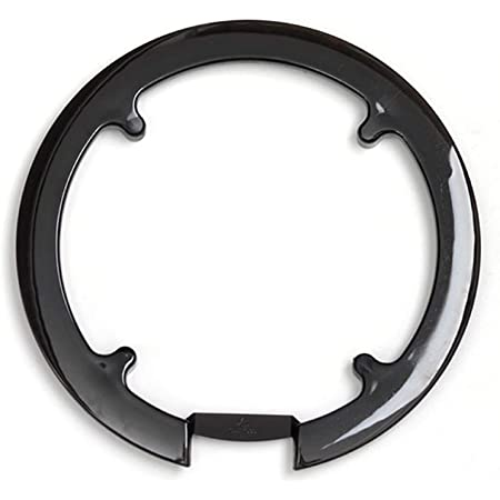 luckything Mountain Bicycle Sprocket Chainring Guard Black Crankset Guard Chain Wheel Crankset Cover Bike Chainstay Protector For 42T 44T Chainring Fixie Track Fixed-Gear Bicycle