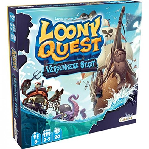 Libellud LIB0001 - Loony Quest, Versunkene Stadt, Mehrfarbig