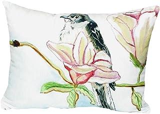 "Betsy Drake NC402 Betsy's Mockingbird No Cord Pillow, 16"" x20"""