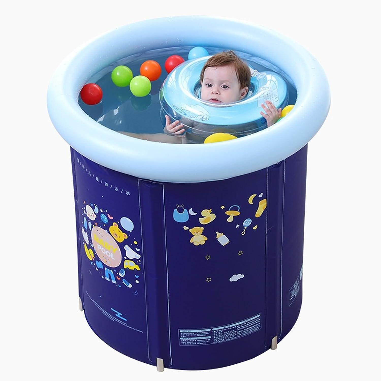 Baby Pool Kunststoff Halterung Pool Kind Badewanne Erwachsene Badewanne Hhenverstellbar, blau, Gre  70  70cm