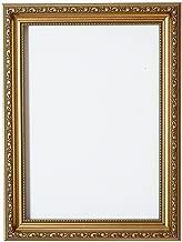 Memory Box Cadre Photo décoratif Shabby Chic avec Panneau arrière en MDF et plexiglas incassable pour Une Grande clarté Doré 60 x 80 cm