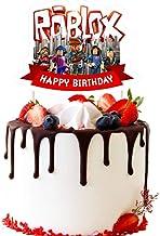 Robux Supply Amazon Com Roblox Cake Topper