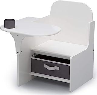 Delta Children MySize Chair Desk with Storage - Bianca White (TC83760GN-130)