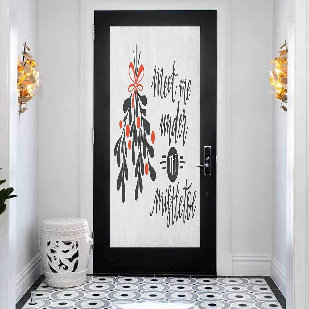 Max 73% OFF Modern Art Stained Low price 3D Door Sticker Me Quote Mist Under The Meet