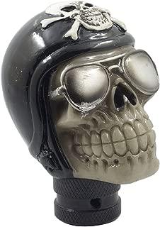 Mavota Black Pirate Skull Manual Automatic Gear Shift Knobs