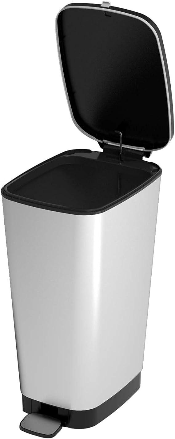 Kirmax Cubo de Basura N/órdico Cubo de Basura de Pl/ástico Oficina Hogar Bote de Basura Cubo de Basura Cubo de Basura Cubo de Almacenamiento de Pl/ástico