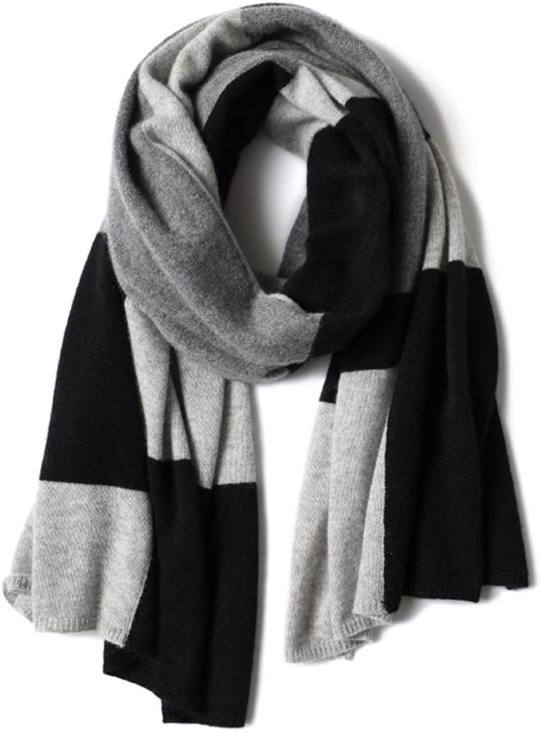 Cold Weather Scarves Scarf Ladies Scarf Ladies Shawl Knit Cashmere Scarf colorblock Plaid Literary Scarf Warm Wild Scarf New Year Gift Birthday Gift Wraps