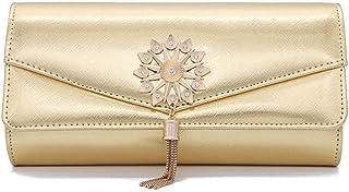 Bagseqt Umhängetasche Damen Clutch Abend Clutch Taschen Für Frauen Mini Leder Handtasche Party Umhängetasche Hochzeit Clutches