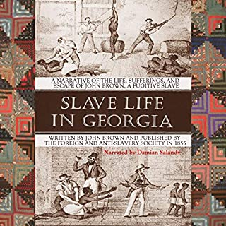Slave Life in Georgia audiobook cover art