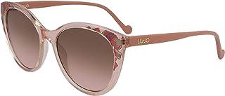 ليو جو نظارة شمسية للنساء عين القطة ليو جو ألوان الخوخ