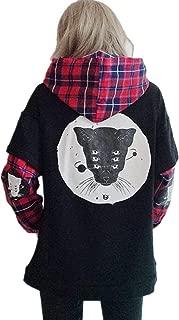 Packitcute Autumn Women's Korean Cute Long Sleeve Loose False Two-Piece Sweatshirts