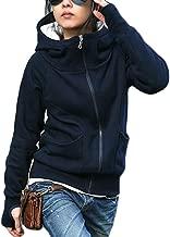 Best zip up funnel neck sweatshirt womens Reviews