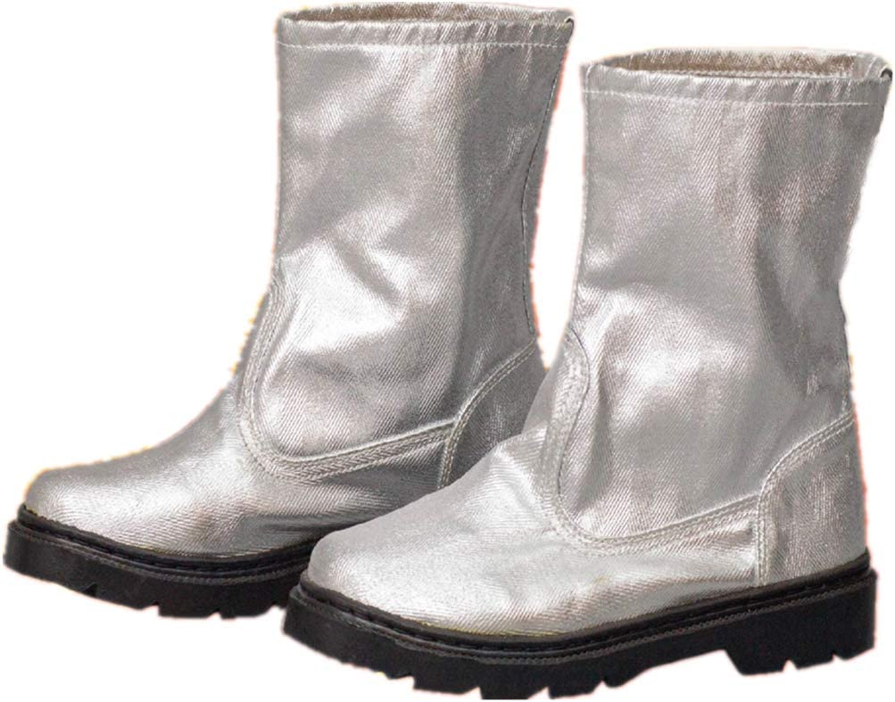 MXBAOHENG Fireproof Max 53% OFF Boots Welding Protective Foil Over item handling Shoes Aluminum
