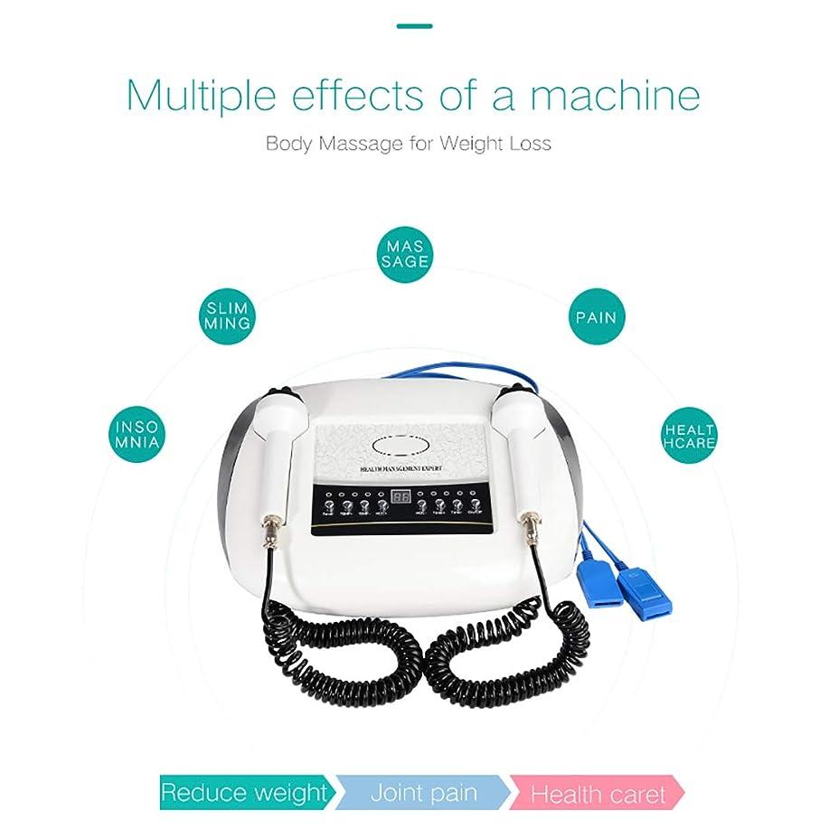 信条機密重々しい体脂肪リムーバーマシン、デバイスマッサージャーを締め付け減量ソニックブルーとレッドライトスキンのためのEMSスリミングマッサージ