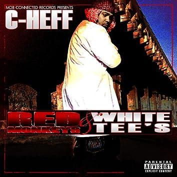 Red Monkeys & White Tee's
