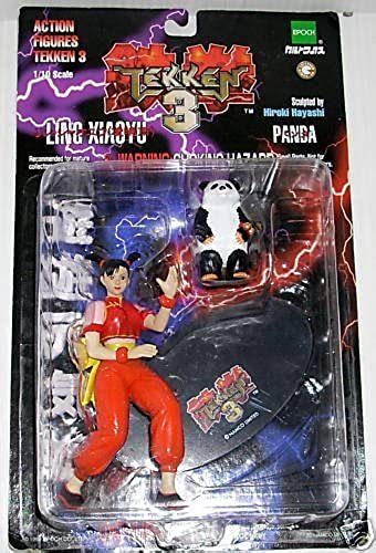 Tekken 3 Ling Xiaoyu Action Figure with Panda by Palisades
