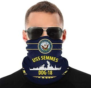 Nother USS Semmes Ddg18 Anime män utomhus multifunktionell variation huvudscarf vindtät ansiktsmask