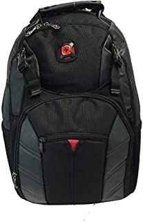 Swiss Gear Sherpa 16 Nylon Backpack - Black/Grey