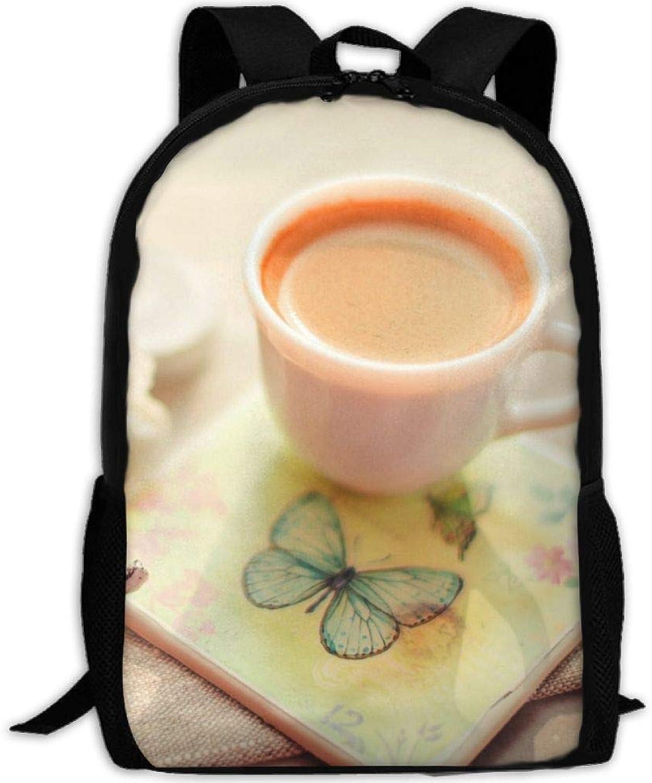 Backpack Briefcase Laptop Travel Hiking School Shoulder Bags Tea Coffee Daypack