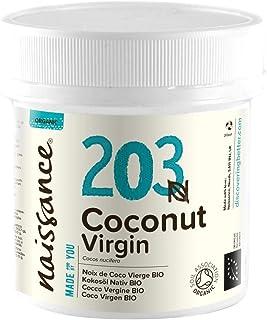 comprar comparacion Naissance Coco Virgen BIO Sólido - Aceite Vegetal Prensado en Frío 100% Puro - Certificado Ecológico - 100g