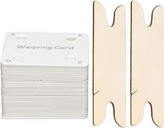needlid Peigne à Tisser, Résistant à l'usure Pratique Facile à Utiliser Cartes de Tissage de comprimés à Usage Professionn...