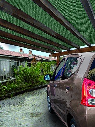 Rete Telo Ombra OMBREGGIANTE MT. 2X20 FRANGISOLE Verde FRANGI Sole OSCURAMENTO 90%