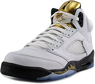 89c205402f44aa AIR Jordan 5 Retro BG (GS)  Olympic Gold  - 440888-133
