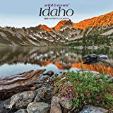 Idaho Wild & Scenic 2020 12 x 12 Inch Monthly Square Wall Calendar, USA United States of America Rocky Mountain State Nature
