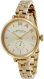 Marc by Marc Jacobs Women's Gold Dial stainless-steel Band Watch - MBM3363
