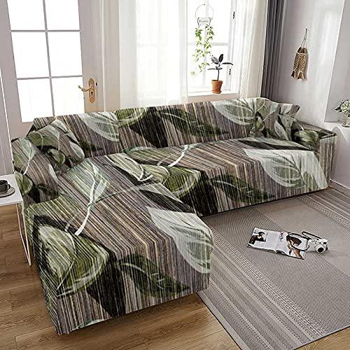 WXQY Sala de Estar Figura de mármol Todo Incluido Funda de sofá elástica Funda de sillón decoración del hogar Funda de sofá A4 1 Plaza