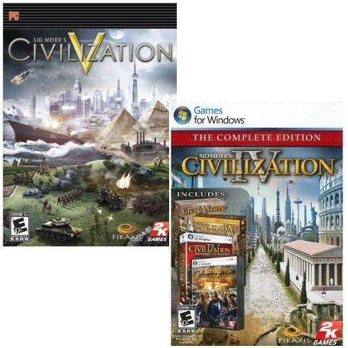 Civilization IV and V - Pack [Download]