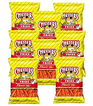 Chester s Flamin  Hot Fries 1.75 oz bags  Pack of 8
