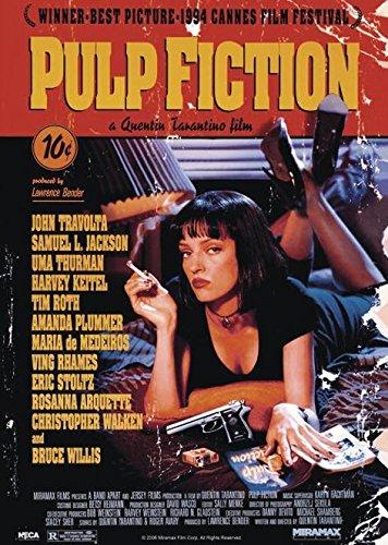 La grande affiche Pulp Fiction