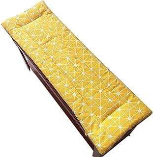 GGoty 30 x 80 cm Cuscino antiscivolo per panca con cravatta dondolo a 2 o 3 posti tappetino di ricambio per sedile da viaggio per interni ed esterni lavabile spessore 3 cm