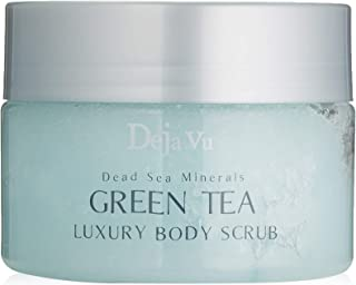 Deja Vu mar muerto minerales té verde lujo exfoliante
