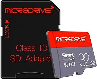 Microdrive メモリカード 32gb microsd 高耐久 ドライブレコーダー用 class10 sdカード 高耐久 AKフラッシュ採用 ドライブレコーダー 向け コスパ重視/メモリーカード/tfカード