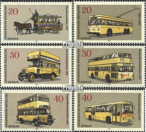 Berlijn (West) Mi.-Aantal.: 446-451 (compleet.Kwestie) 1973 Bussen (Postzegels voor verzamelaars) wegverkeer