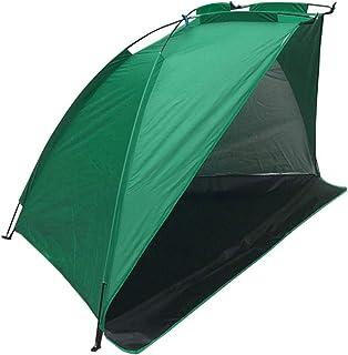 Seasaleshop tipi tält utomhus, vattentätt fisktält med dragkedja dörr strandtält uv skydd, utomhus lätt kasttält 3 persone...