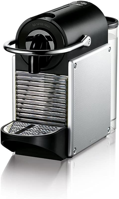 Nespresso EN125S Original Espresso Machine By De Longhi Pixie Aluminum