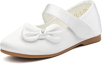 DREAM PAIRS Toddler Girls Dress Ballerina Mary Jane Flats Shoes